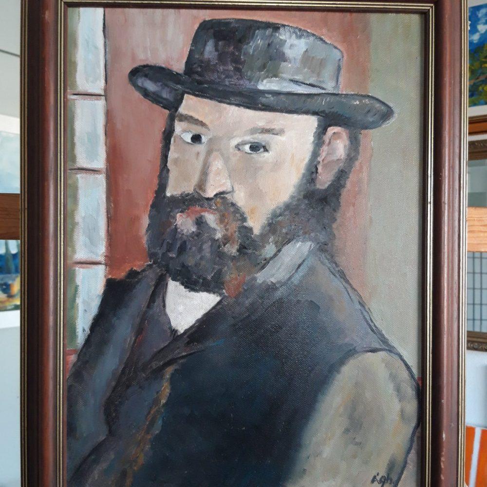 Cézanne portré