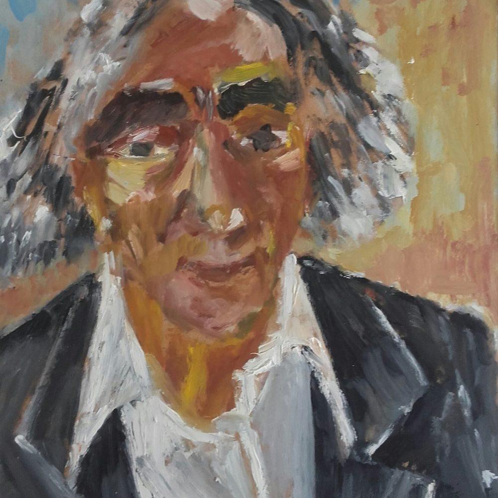 Faludy Zámbó Kornél festménye után szabadon